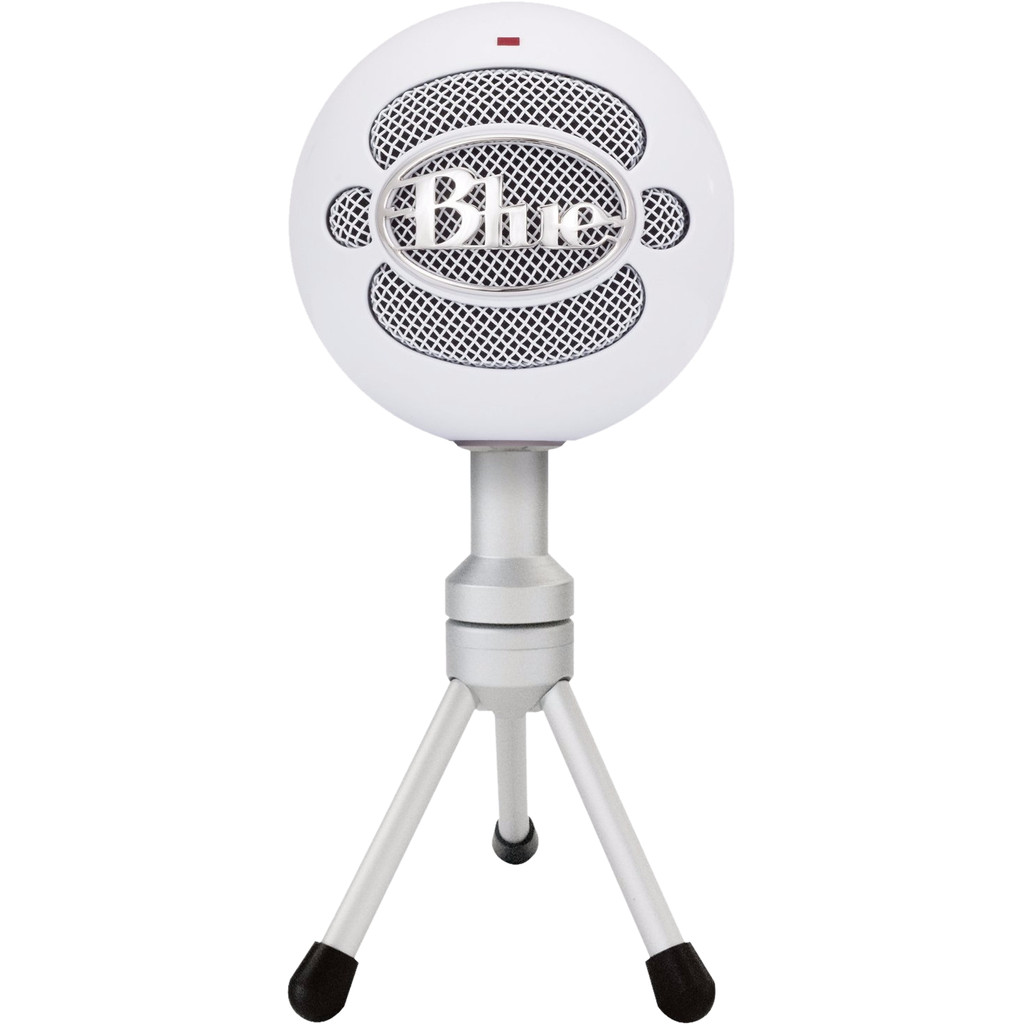 Blue Snowball Ice Wit Microfoons