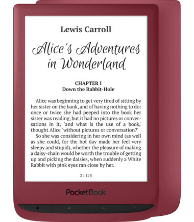 PocketBook Touch Lux 5 Ruby Rood E-readers