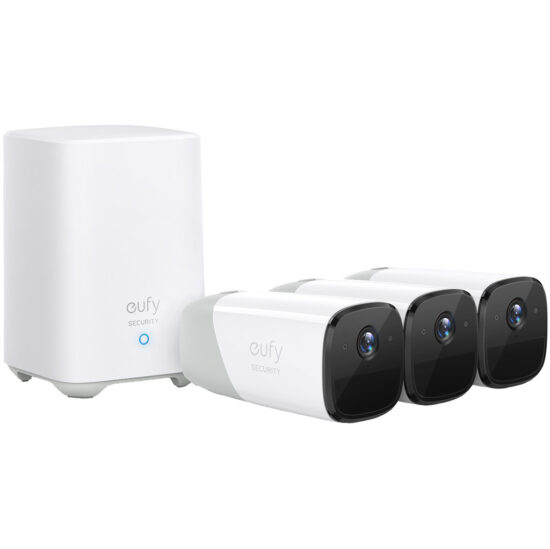 Eufy by Anker Eufycam 2 3-Pack IP-camera's