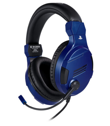 Bigben Official Licensed PS4 & PS5 V3 Stereo Gaming Headset Blauw Gaming headsets