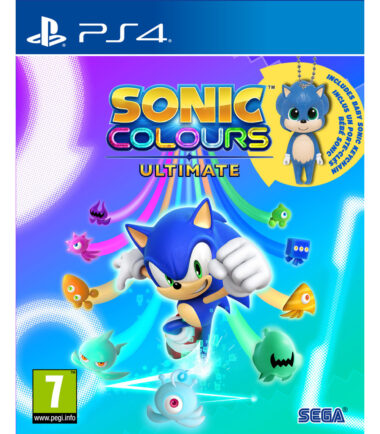 Sonic Colours Ultimate - Day One Edition incl. Baby Sonic Keyring PS4 Games