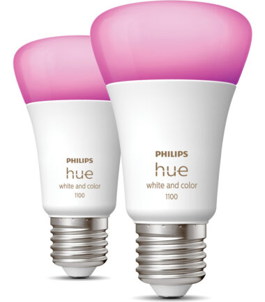 Philips Hue White & Color E27 10.5W Duo pack Smart lampen